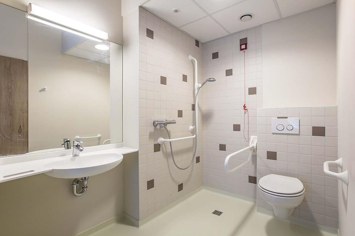 Badkamer Sauvegarde woonzorgcentrum
